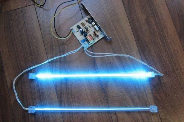 """Презентация по технологии для 8 класса на тему:""""люминесцентное и неоновое освещение"""""""