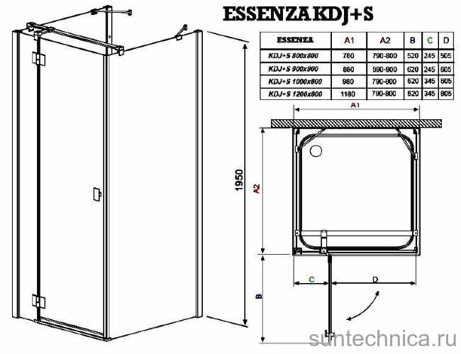 Типовые размеры душевых кабин: стандартные и оптимальные размеры - «интерьер ванной»