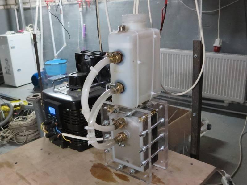 Водородные генераторы - технические характеристики и изготовление своими руками