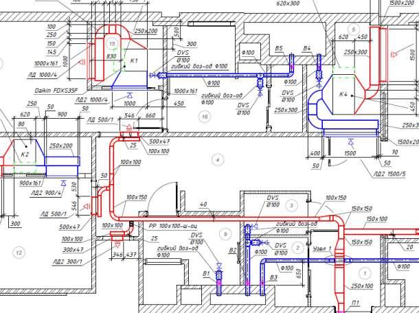 Проект вентиляции здания