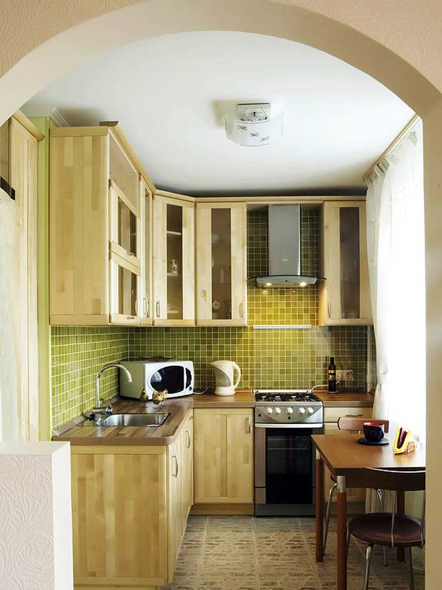 Мебель для маленькой кухни – секреты дизайнеров в одной статье