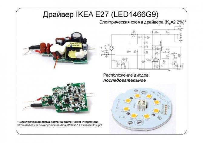 Драйверы для светодиодов: устройство, виды, подключение