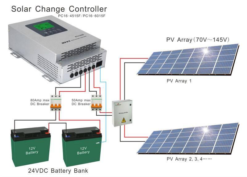 Простой контроллер заряда для солнечной панели - lm393, tl431