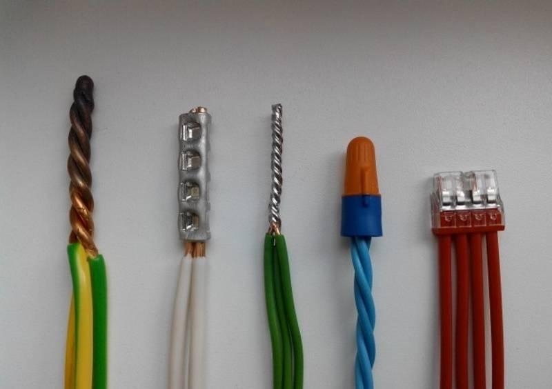 Правильное соединение электрических проводов между собой: разбираем вместе