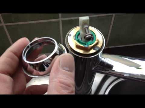 Как самостоятельно заменить картридж в смесителях