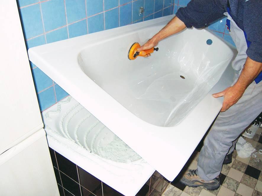 Чем покрасить чугунную ванну снаружи