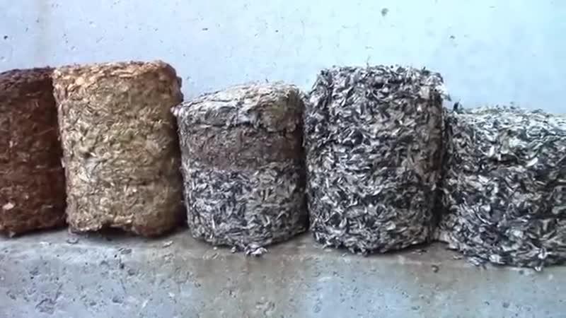 Создаем топливные брикеты своими руками в домашних условиях для отопления дома: обзор +видео