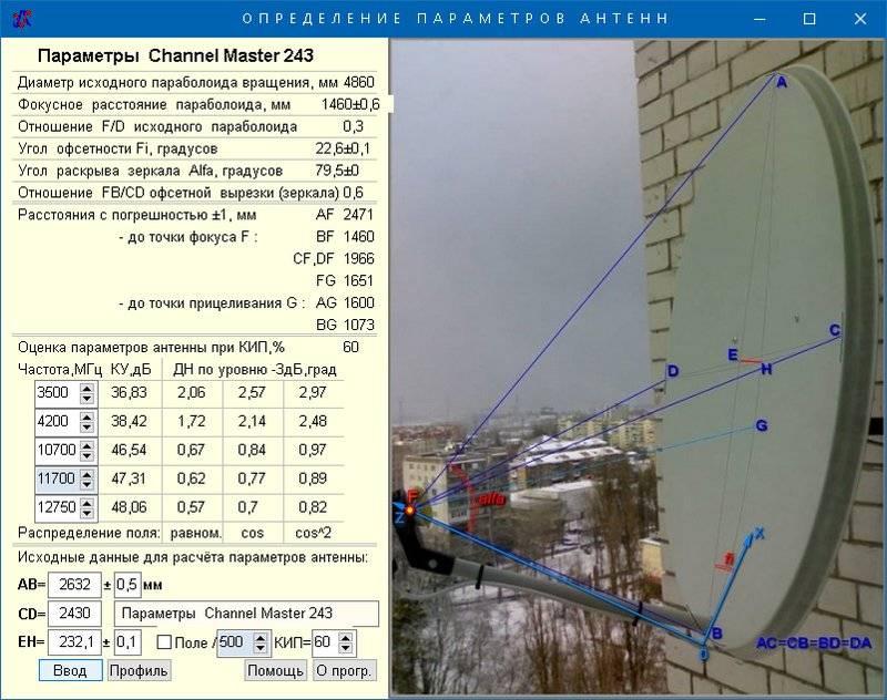 Как настроить антенну триколор тв на спутник самому без прибора