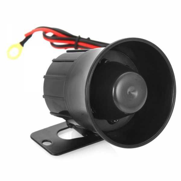 Автомобильная сирена для сигнализации схемы переделки стандартной и установки автономной автосигнали