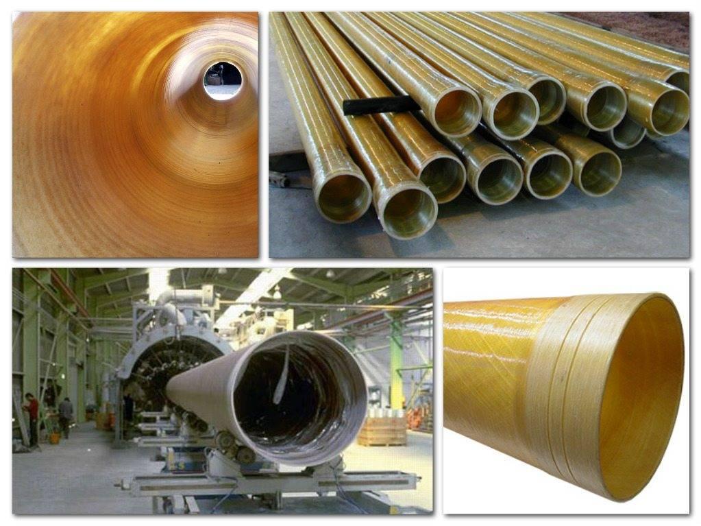 Стеклопластиковые трубы: размеры и классификация