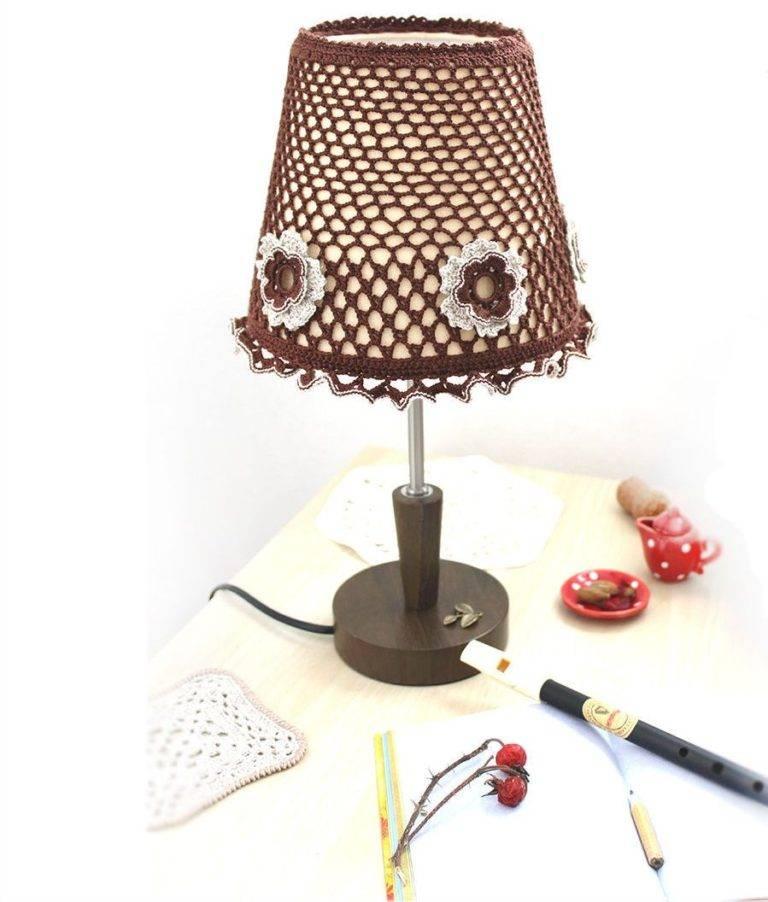 Абажур для настольной лампы и торшера своими руками: из каких материалов можно делать, пошаговые рекомендации по изготовлению