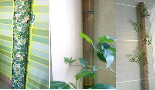 Чем закрыть трубы отопления в комнате – советы простых и эффектных решений
