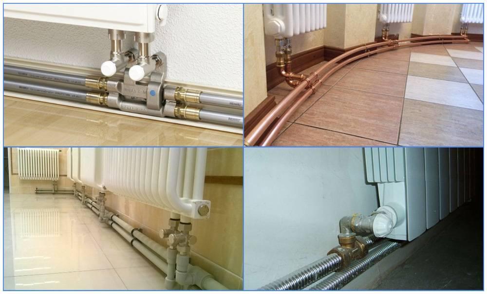 Какие трубы лучше подойдут для монтажа отопительной системы дома - обзор всех вариантов
