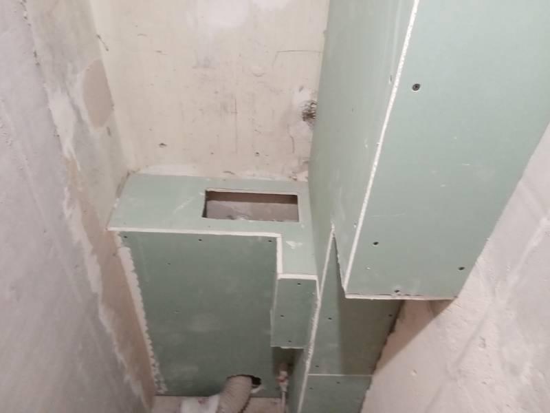 Как закрыть трубы в ванной в короб: как сделать из гипсокартона, пластика, варианты монтажа своими руками