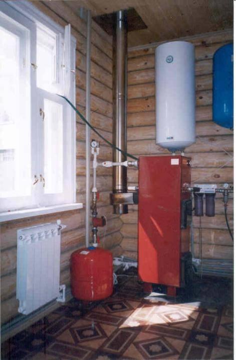 11 вариантов загородного отопления дома с разным теплоносителем