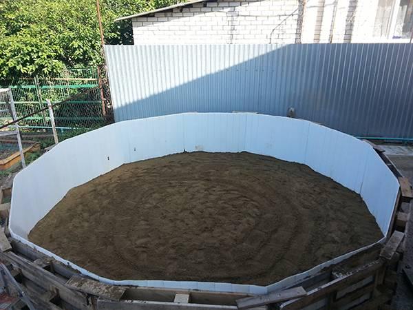 Монтаж каркасного бассейна на даче: подготовка, сборка, очистка воды