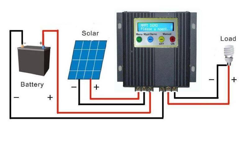 Контроллер заряда аккумулятора для солнечной батареи