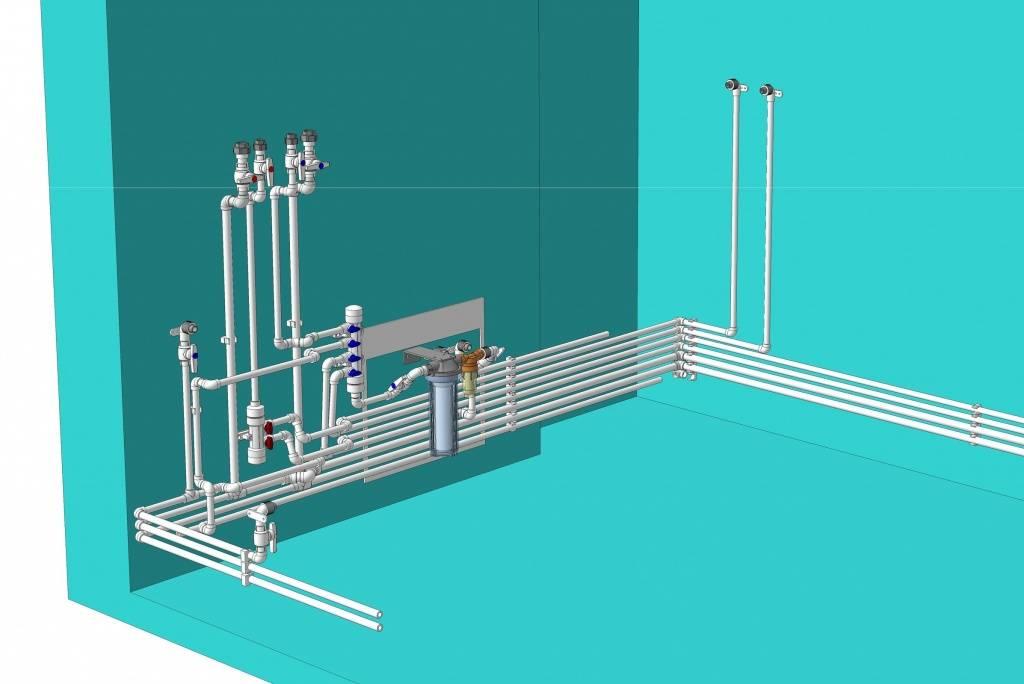 Устройство водопровода из полипропилена своими руками