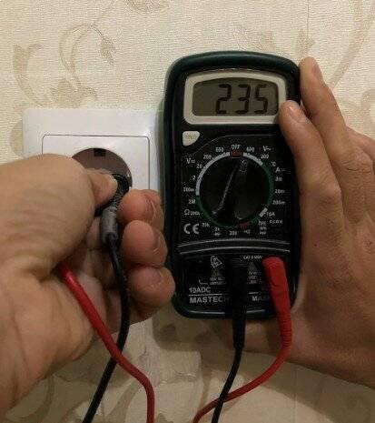 Как измерить ток в розетке мультиметром - советы электрика - electro genius
