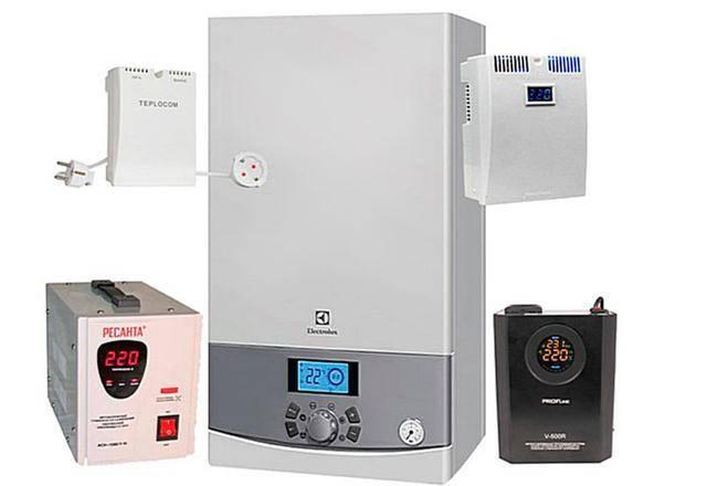 Как выбрать стабилизатор напряжения для газового котла