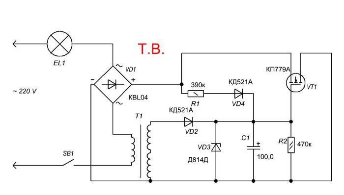 Плавное включение света в квартире. устройства плавного включения (упвл) ламп накаливания