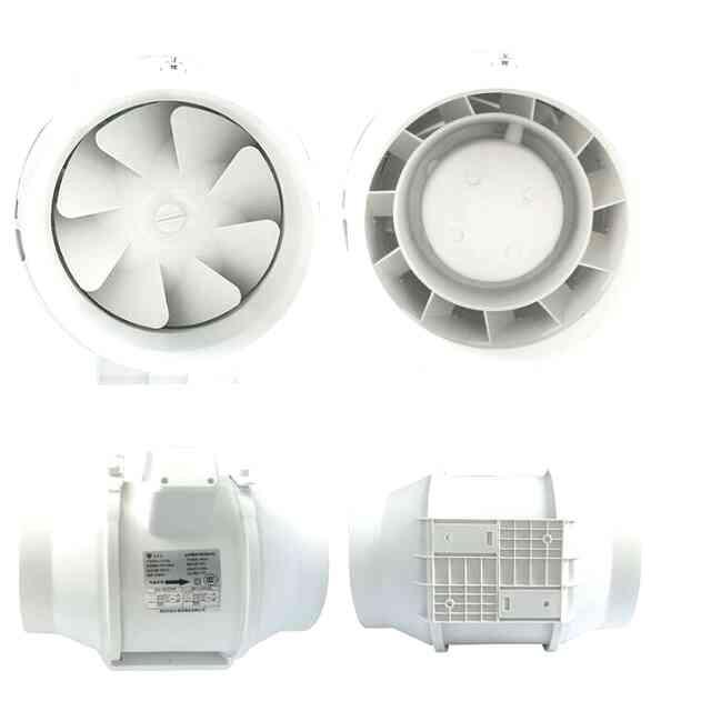 Вытяжка в ванной и санузле с помощью вытяжного вентилятора