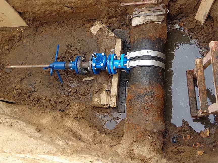 Технология врезки в газопровод высокого и низкого давления