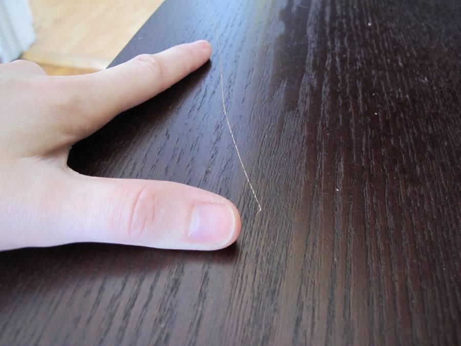 Как и чем убрать царапины на деревянной мебели
