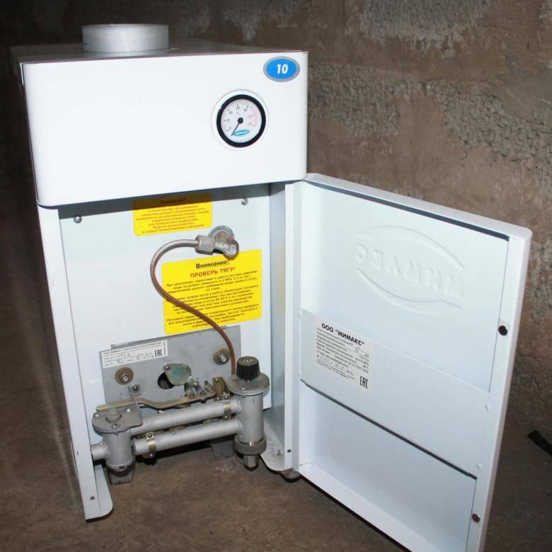 Как включить газовый котел — запуск системы