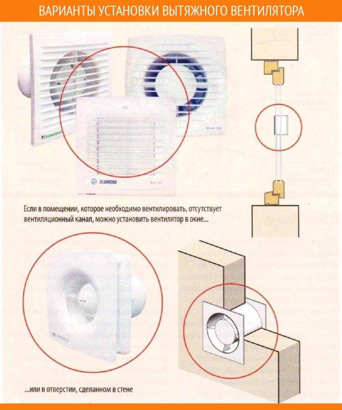 Вытяжной вентилятор для вытяжки в ванной: установка и подключение вентилятора к выключателю