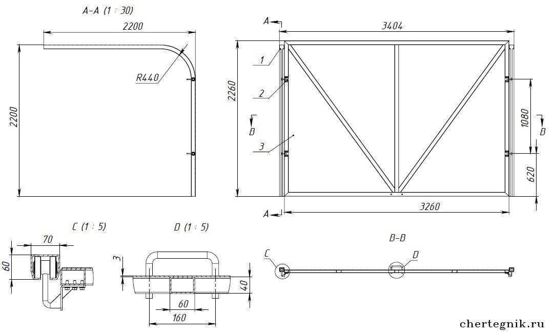 Подъемные ворота своими руками: необходимые материалы для изготовления + поэтапная инструкция по сооружению и установке своими руками