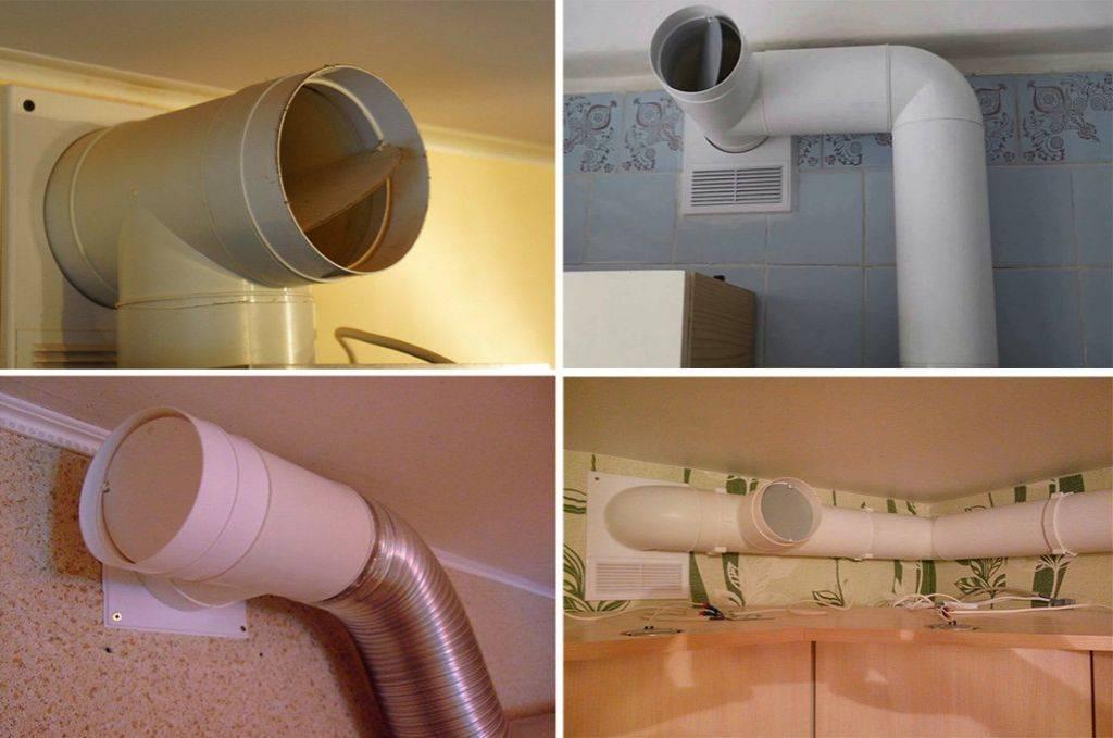 Обратный клапан на вентиляцию: разновидности и монтаж своими руками