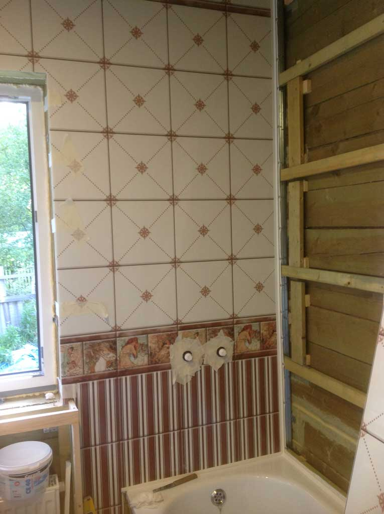 Отделка ванной комнаты пластиковыми панелями: инструкция