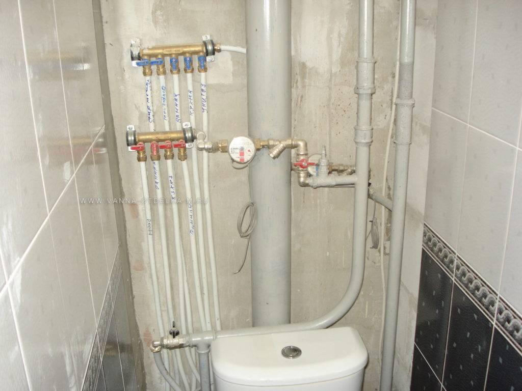 Замена труб в туалете от а до я: проектирование, выбор стройматериала, монтажные работы + разбор ошибок
