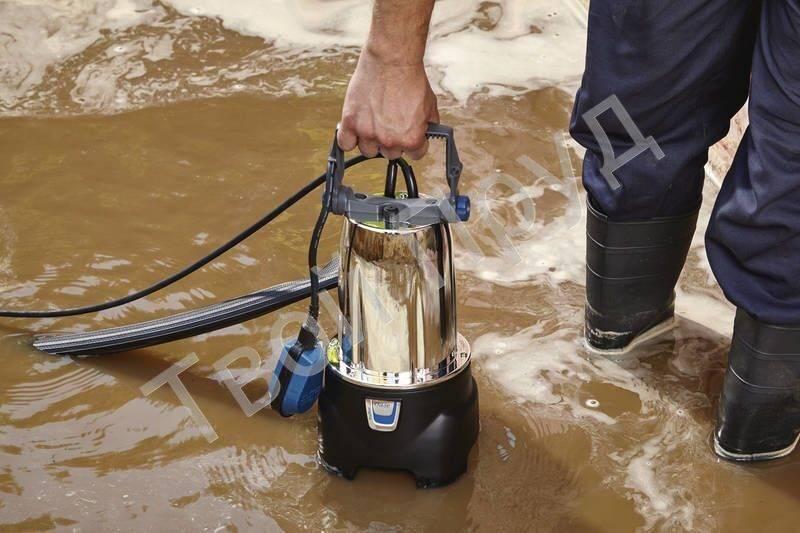 Погружной насос для грязной воды: виды, характеристики и полезная информация