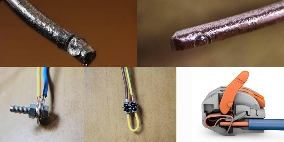 Как лучше соединить медный и алюминиевый провод - советы электрика - electro genius