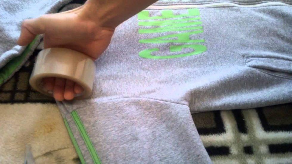 Как убрать катышки с одежды – 7 способов избавиться от катышек