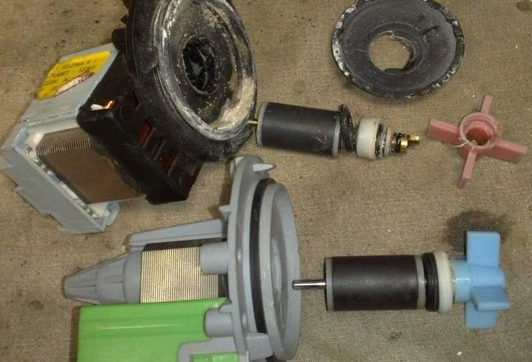 Водяной насос для стиральной машины: устройство и принцип работы