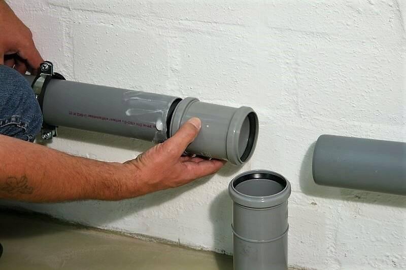 Делаем раструб канализационной трубы — разбираем со всех сторон