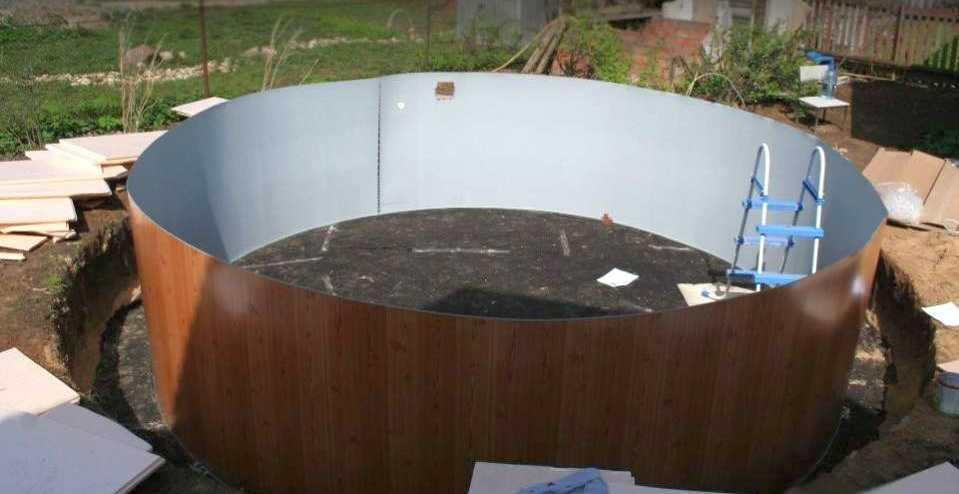 Как сделать каркасный бассейн своими руками: поэтапная инструкция монтажа