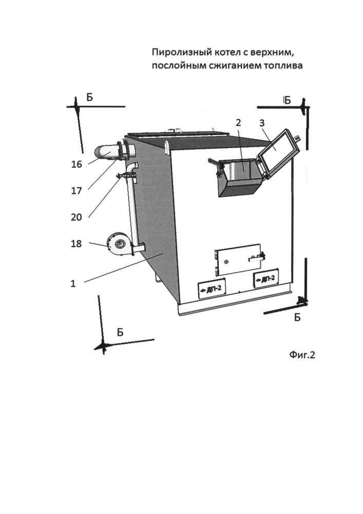 Пиролизный котел своими руками: инструкция и чертежи