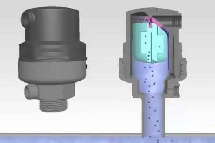 Вакуумный клапан для канализации: правила выбора и установки устройства