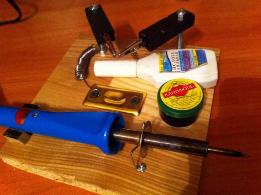 Чем заменить паяльную кислоту в домашних условиях?