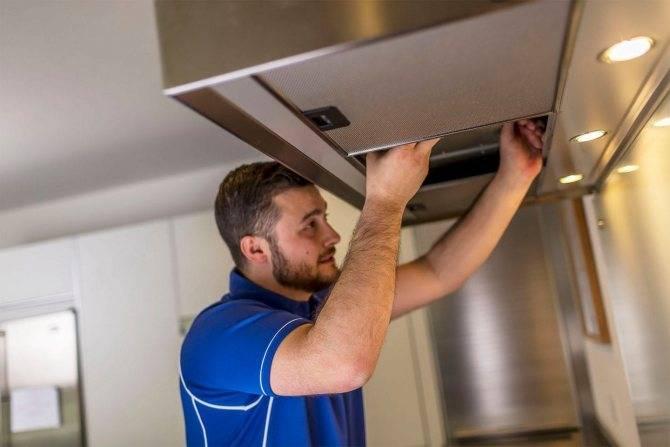 Установка вытяжки на кухне по правилам: поэтапная инструкция