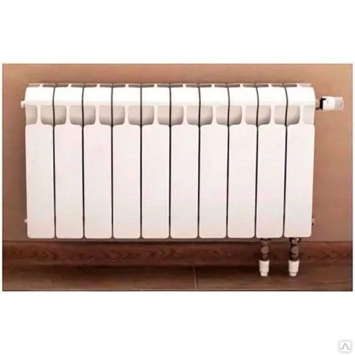 Секционный биметаллический радиатор sira: отзывы. подключение радиатора отопления sira