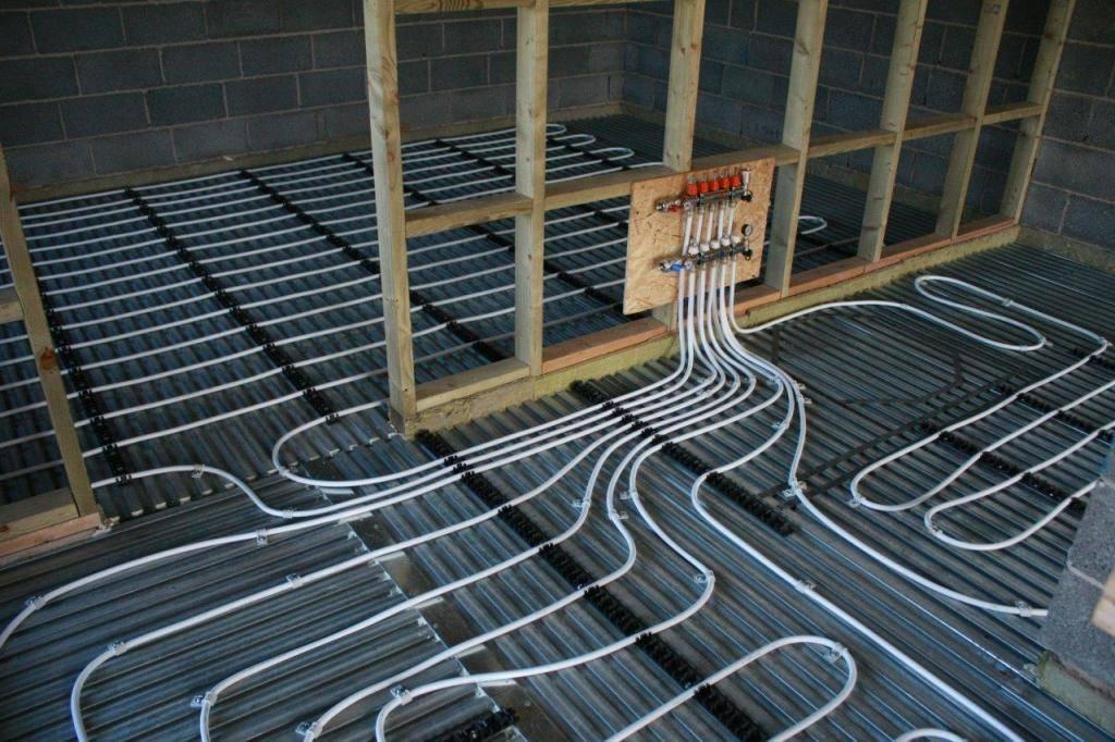 Электрический теплый пол под плитку: укладка и монтаж