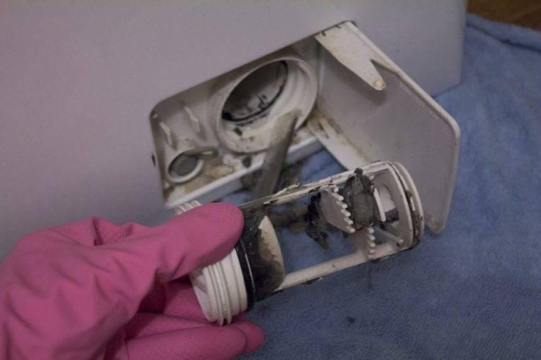 Как почистить фильтр в стиральной машине: обзор лучших способов