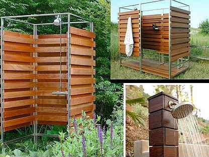 Как сделать душ на даче своими руками – варианты садового душа, инструкция по строительству