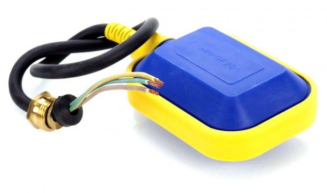 Для чего предназначен и как работает поплавковый выключатель