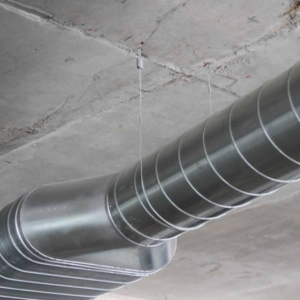 Ттк. монтаж металлических воздуховодов внутренних систем вентиляции